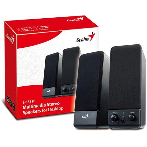 Speaker Genius Sp U120 genius speaker system mains powered rapid pcs