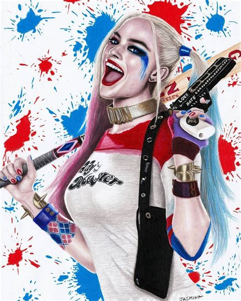 harley quinn colors harley quinn color drawings www imgkid the image