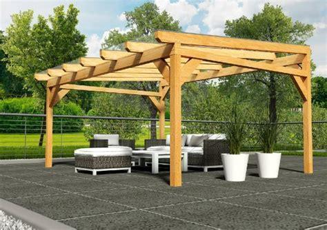 Pavillon Bausatz Alu by 252 Berdachung Holz Freistehend Re71 Hitoiro