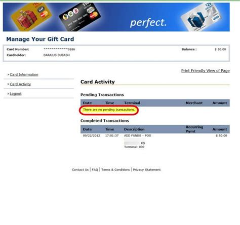 Check My Balance On My Visa Gift Card - check my balance on target visa gift card dominos pizza claremont
