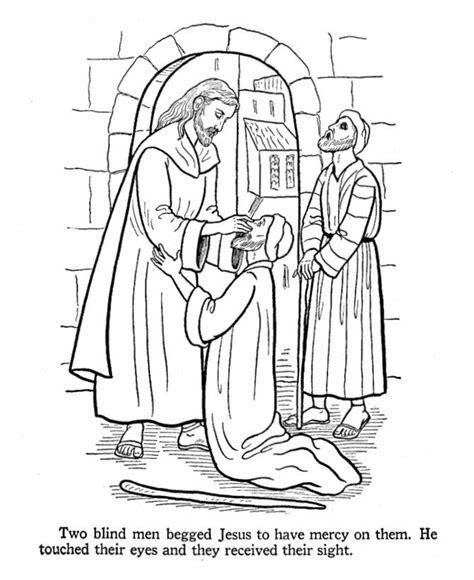 jesus heals a paralytic coloring page az coloring pages