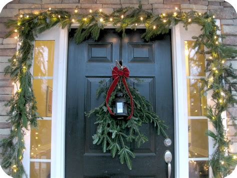outside garland unique outdoor decor ideas 2015 tree decorating ideas 2015