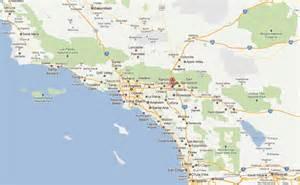 us map fontana california fontana california map