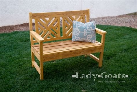 how to build an outdoor bench with back ana white woven back bench diy projects
