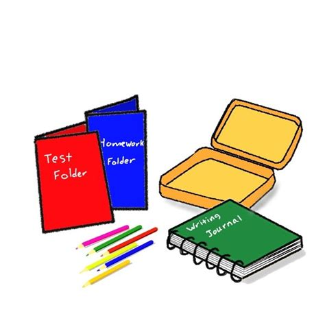 Papercraft Supplies - arts and crafts supplies clipart 59