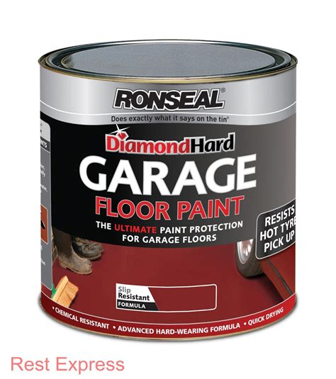 ronseal diamond hard garage floor paint heavy duty 5l