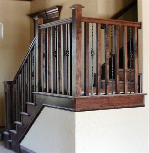 wrought iron and wood banisters 62 best images about balustors staircases on pinterest