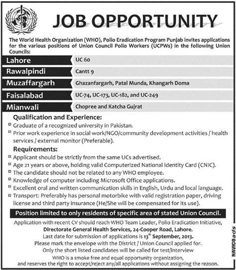 Pharmacist Vacancy by Pharmacist In Who Medimoon