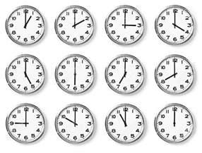 clock times our homework help