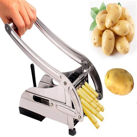 Potato Cutter Slicer Chopper Fries Pemotong Kentang Ss homestyle stainless steel fries potato chips cutting cutter machine maker slicer