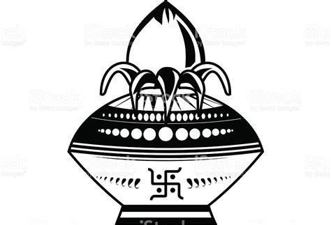 wedding kalash clip hindu clipart kalash pencil and in color hindu clipart