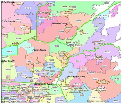 zip code map yuba county placer county zip code map auburn ca zip codes