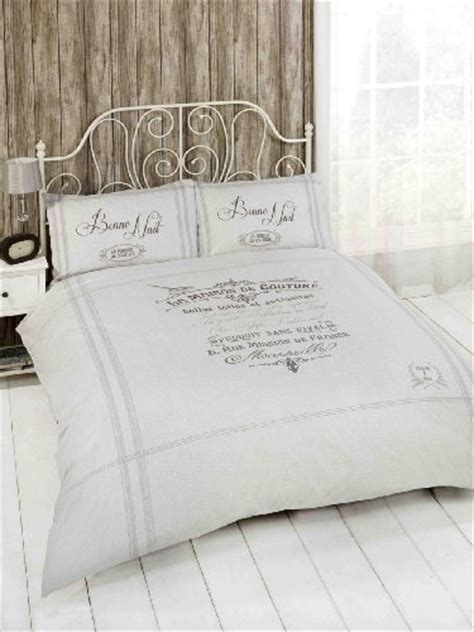 beautiful french grey classic single duvet cover bed set bedding shabbychic londoncouk