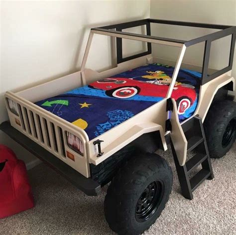Jeep Bedroom Decor by Best 25 Car Bed Ideas On Car Bed Car