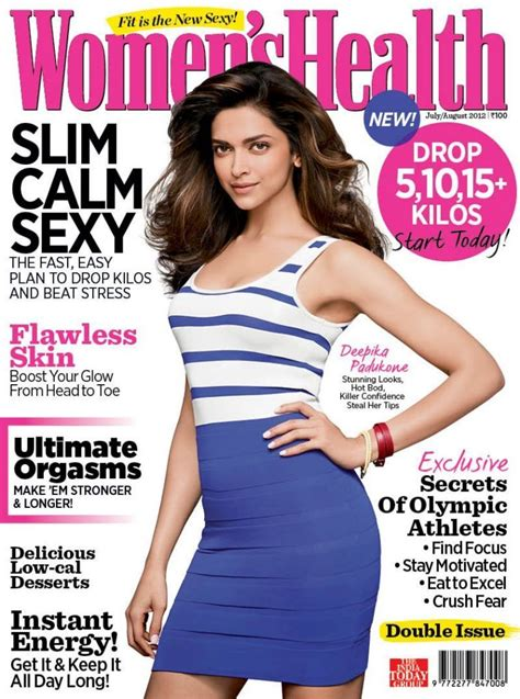 women magazine deepika padukone fit figure women s health magazine
