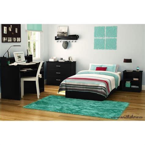libra 4 drawer dresser in pure black finish home furniture bedroom furniture dressers south shore libra kids 3 drawer chest in pure black finish