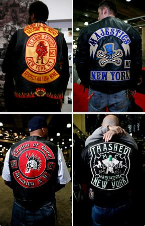 Mc New York Jaket stealing from a biker the new york times
