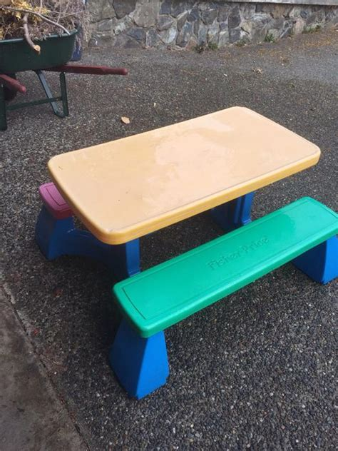 fisher price picnic table fisher price kids picnic table west shore langford