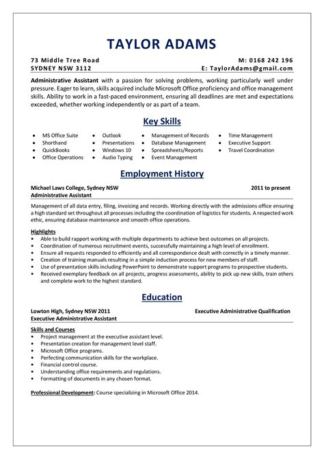 entry level office assistant resume cool writing your carefully 2a