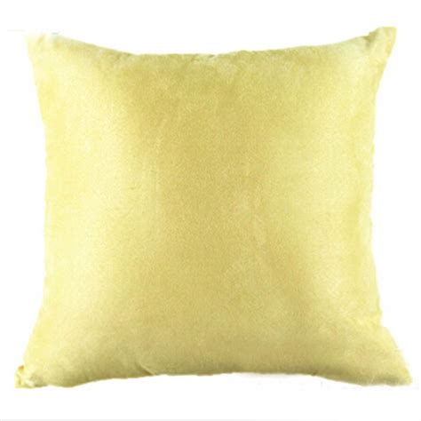 Sofa Pillow Cover Multicolor Square Suede Nap Home Sofa Throw Decor Cushion Cover Pillow Ebay