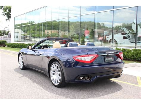 convertible maserati for sale 2012 maserati gt convertible for sale gc 18573 gocars