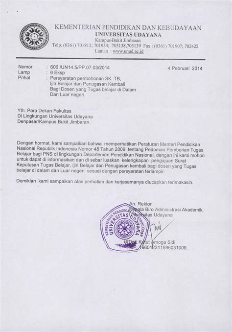 Surat Izin Pns by Contoh Surat Sk Pns Kotasurat