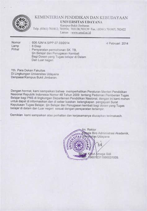 Contoh Surat Tugas Pns by Contoh Surat Sk Pns Kotasurat