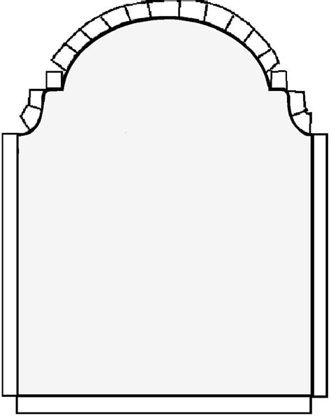 tombstone templates for tombstone template printable clipart best