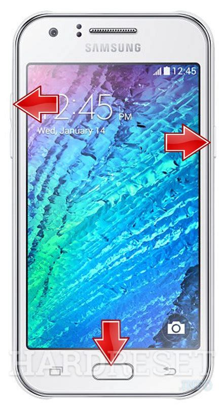 reset samsung j1 samsung j100f galaxy j1 how to hard reset my phone