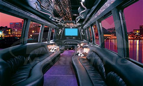 Limousine Interior Design by Limo Service Limo Service Limousine Rentals In