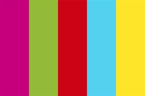 random color color palette