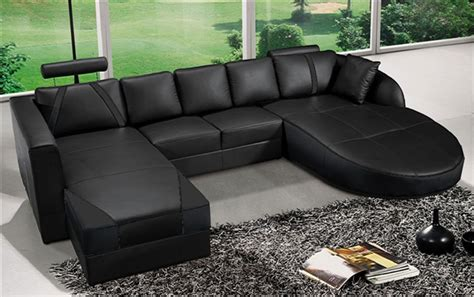 ultra modern italian furniture ultra modern black italian leather sectional sofa cp 2211 bk