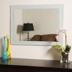 decor wonderland ssm526 francisca large frameless wall sands large frameless mirror decor wonderland wall mirror