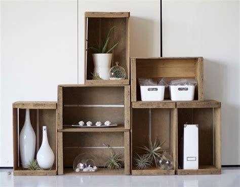 cajas guardarropa ikea muebles reciclados hechos con cajas de frutas