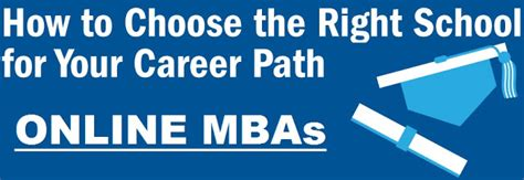 Choosing The Right Mba Program things to consider before choosing an mba program