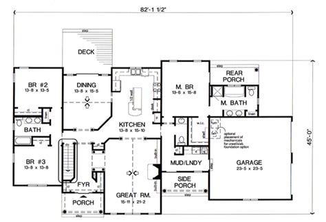 House Plan 24748 At Familyhomeplans Com House Plans 1 Bedroom Bungalow