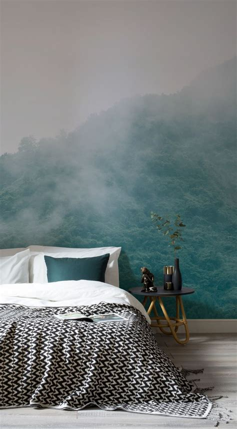 cloud bedroom wallpaper 25 best ideas about forest wallpaper on pinterest