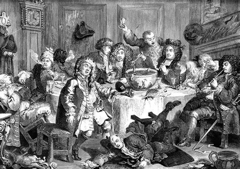 history of new year in america punch nightcapped