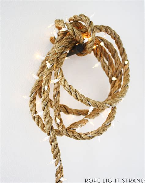 christmas decoration ideas with this dazzling diy rope