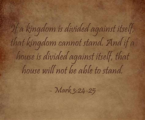 a house divided cannot stand a house divided bible verse meaning and study
