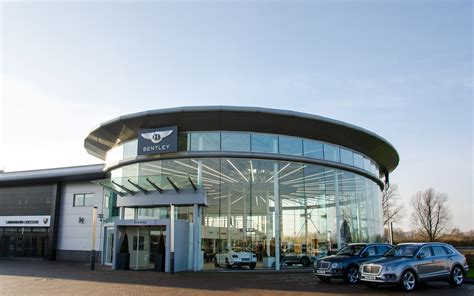 Bentley Showroom Projects Thorlux Lighting United Kingdom