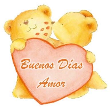 Imagenes De Ositos Buenos Dias Amor | tarjetas de buenos d 237 as de ositos con mensajes bonitos