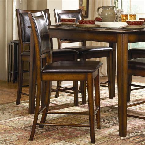 Verona 7 Set Termurah homelegance verona 7 counter height dining set with x back chairs sol furniture