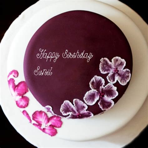 Sunil Name With Birthday Flowers Cakes For Whatsapp Dp Pictures