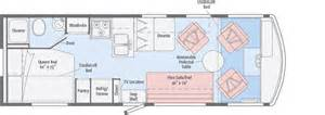 tribute floorplans winnebago rvs