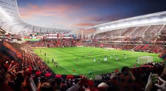 In la even dreams of a 250 million soccer stadium happen