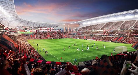Los Angeles Fc Los Angeles Football Club Announces New Stadium