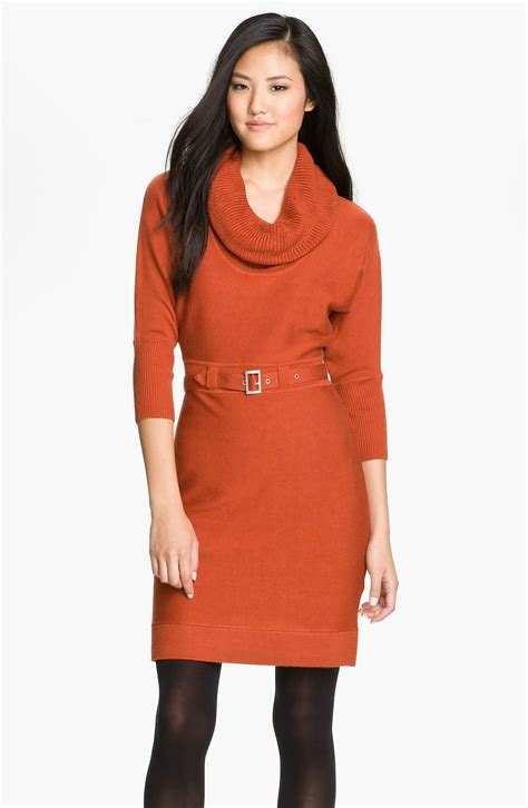 Sweater Dress Ii by Cowl Dress Neck Sweater Sweater And Boots