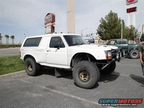 bronco trophy truck goodman bronco whip 215 other overland offroad 215 buggy