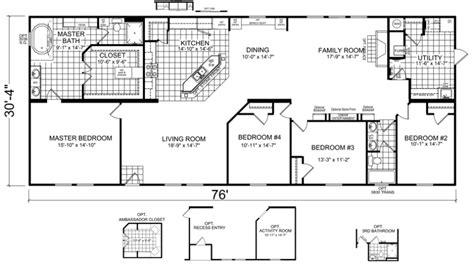 double wide floor plans nc hawthorne 32 x 76 2305 sqft mobile home factory expo